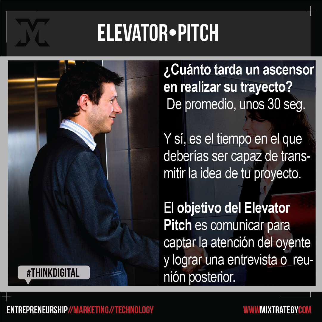 elevator pitch mixtrategy