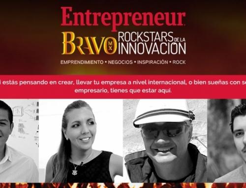 Entrepreneur, Bravo Mx Rockstar de la innovación