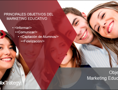 Principales objetivos del Marketing educativo