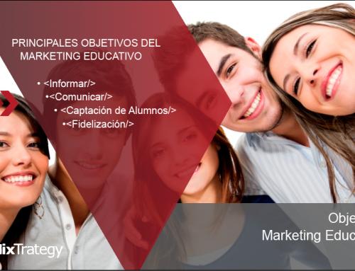 Principales objetivos del Marketing educativo