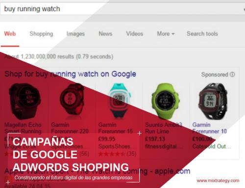 ¿Qué son las campañas de Google Adwords Shopping?